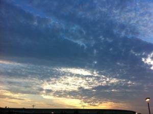 sky over SHS