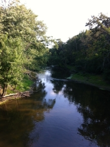 the pretty river