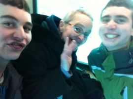 geeks on a train